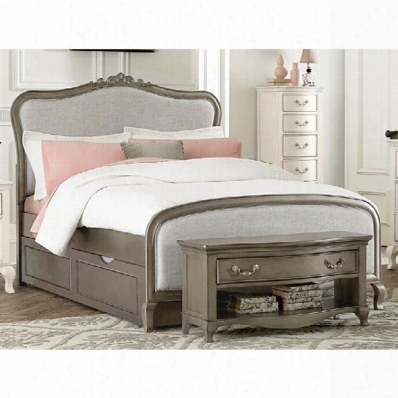 Ne Kids Kensington Katherine Full Upholstered Bed With Trundle