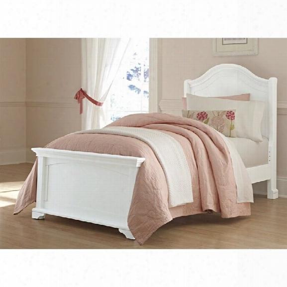 Ne Kids Walnut Street Morgan Twin Arch Bed In White