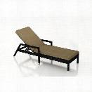 Harmonia Living Urbana Patio Chaise Lounge in Heather Beige