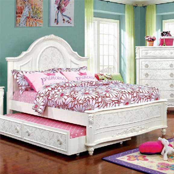 Furniture Of America Aneissa Ii Full Kids Bed In White