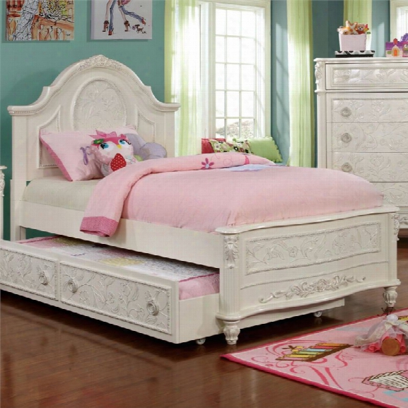 Furniture Of America Aneissa Ii Twin Kids Bed In White
