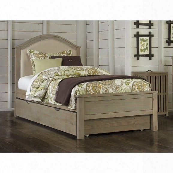Ne Kids Highlands Bailey Twin Upholstered Bed With Trundle
