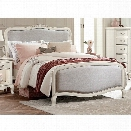 NE Kids Kensington Katherine Full Upholstered Bed in Antique White