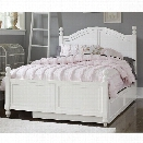 NE Kids Lake House Payton Full Arch Bed with Trundle in White