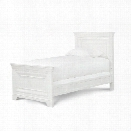 Smartstuff Classics 4.0 Panel Bed in Summer White-Twin