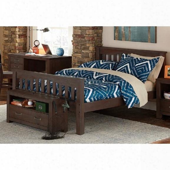 Ne Kids Highlands Harper Full Slat Bed In Espresso