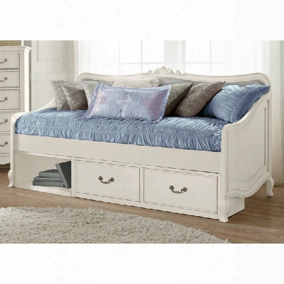 Ne Kids Kensington Elizabeth Storage Daybed In Antique White