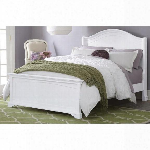 Ne Kids Walnut Street Morgan Full Arch Bed In White
