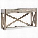 Hooker Furniture Melange Lani Standing Desk in Light Wood