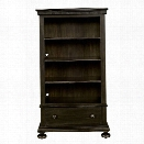 Stone & Leigh Smiling Hill 4 Shelf Bookcase in Licorice