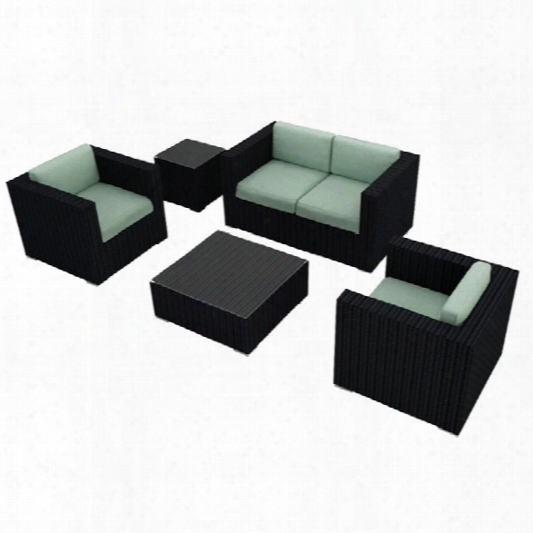 Harmonia Living Urbana 4 Piece Patio Sofa Set In Canvas Spa