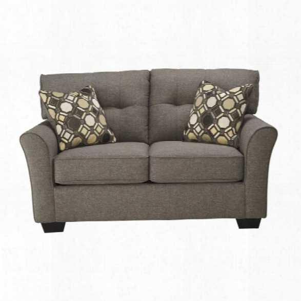 Ashley Tibbee Loveseat In Slate