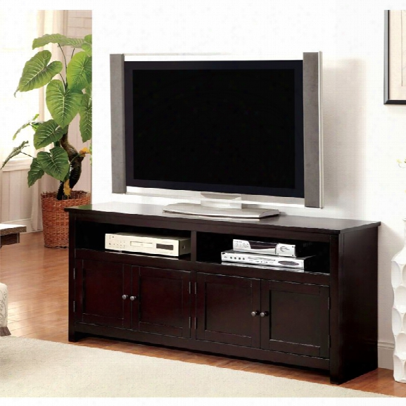 Furniture Of America Killian 60 Tv Stand In Espresso