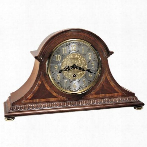 Howard Miller Webster Key Wound Mantel Clock