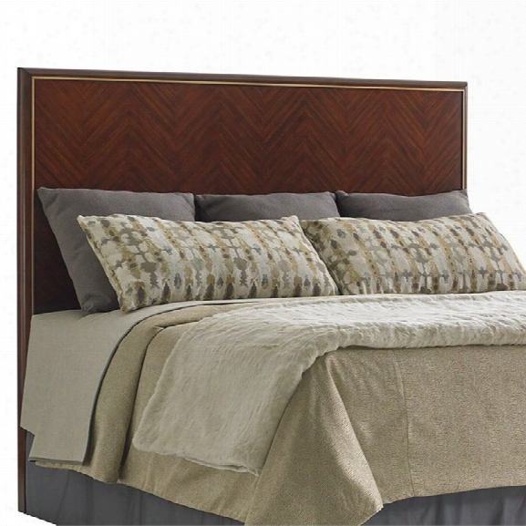Lexington Take Five Carlyle California King Panel Headboard In Hazelnut