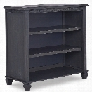 Evolur Madison Mini Hutch Bookcase in Weathered Grey