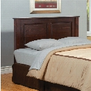 Furniture of America Legales California King Panel Headboard in Cherry