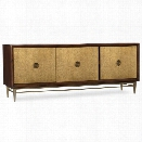 Hooker Furniture 72 TV Stand in Dark Wood