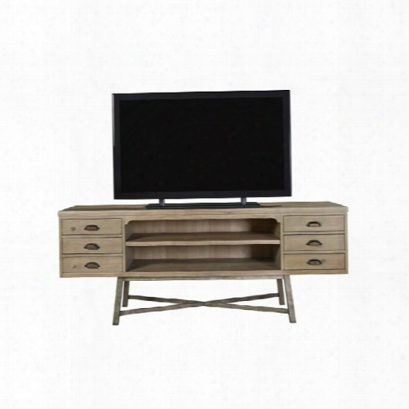 Universal Furniture Authenticity Tv Stand In Khaki