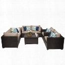 TKC Belle 7 Piece Patio Wicker Sofa Set