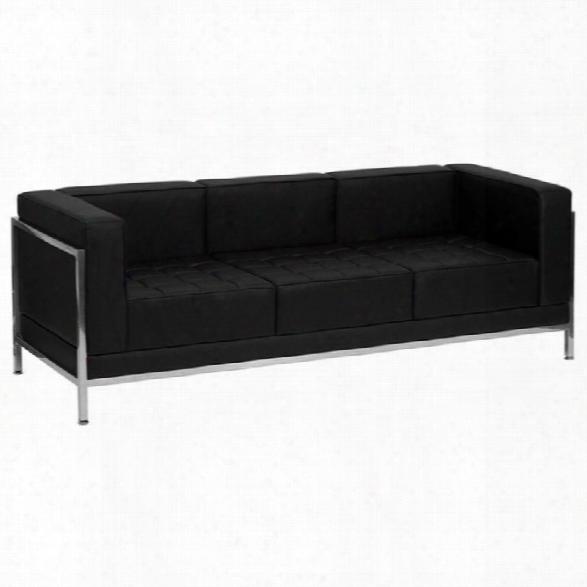 Flash Furniture Hercules Imagination Series Sofa Frame In Black
