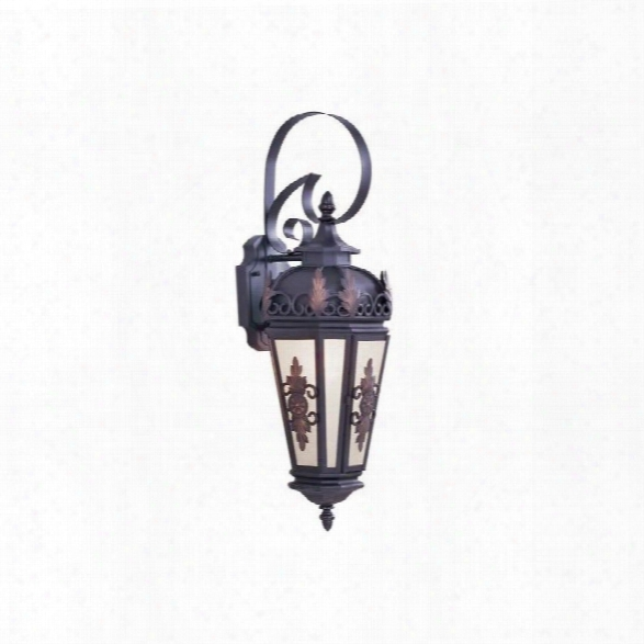 Livex Berkshire Outdoor Wall Lantern In Bronze