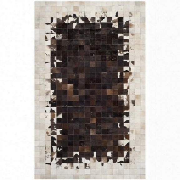 Safavieh Studio Leather Ivory Shag Rug - 5' X 8'