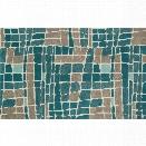 Loloi Nova 7'10 x 11' Wool Rug in Teal and Gray