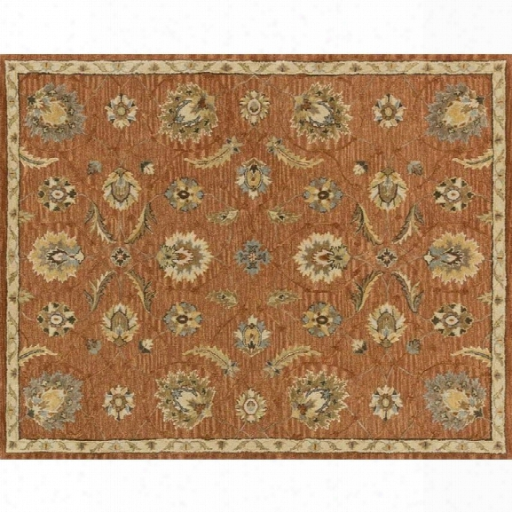 Loloi Walden 9'3 X 13' Wool Rug In Spice And Beige