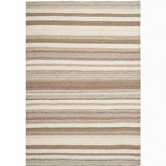 Safavieh Dhurries Natural Contemporary Rug - 9' X 12'