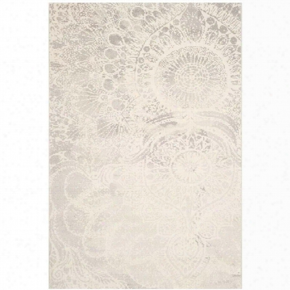 Safavieh Porcello Light Grey Contemporary Rug - 8' X 11'2