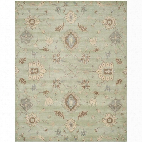 Safavieh Wyndham Light Green Contemporary Rug - 8' X 10'