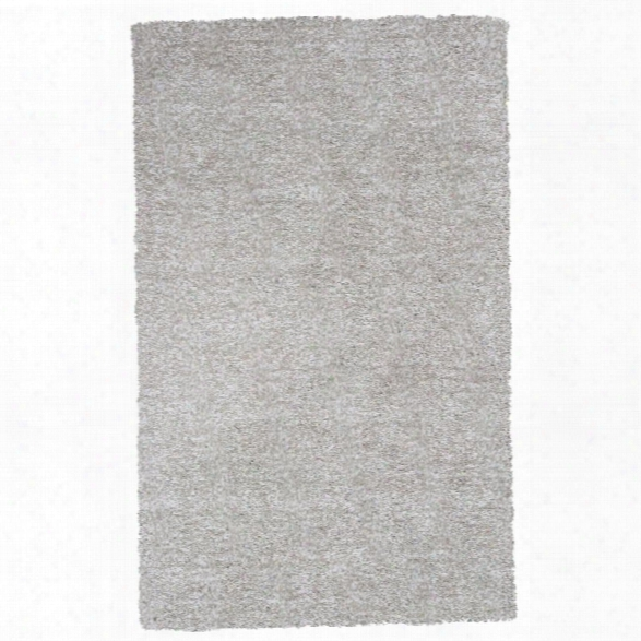 Kas Bliss 9' X 13' Hand-woven Shag Rug In Ivory