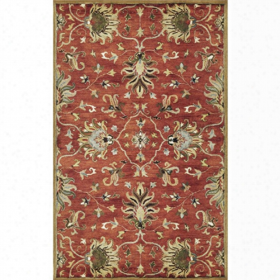 Kas Syriana 8' X 10'6 Hand-tufted Wool Rug In Sienna