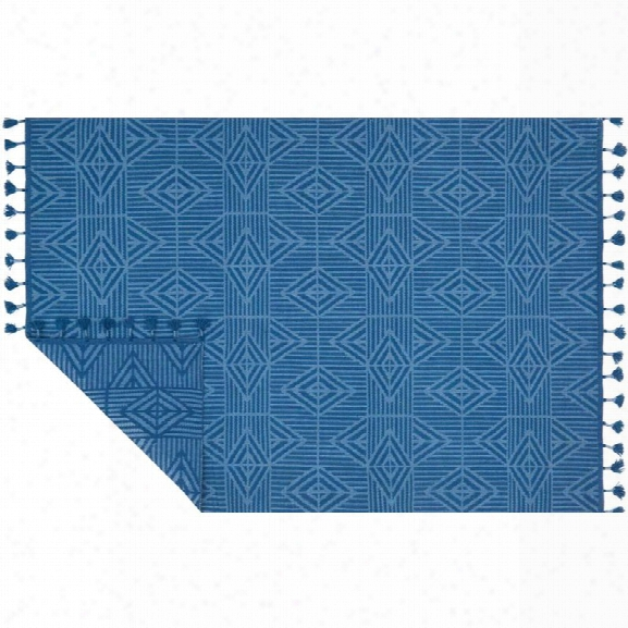 Loloi Kahelo 9'3 X 13' Contemporary Hand Made Rug In Blue
