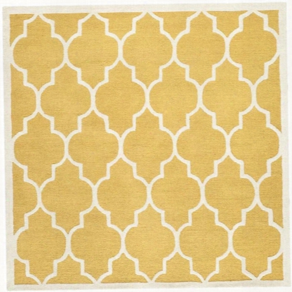 Safavieh Cambridge Gold Transitional Rug - Square 10'