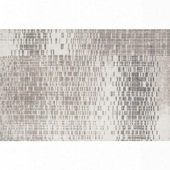 Loloi Discover 9'3 X 13' Power Loomed Rug In Ivory And Gray