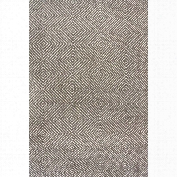Nuloom 10' X 14' Hand Woven Ago Rug In Gray