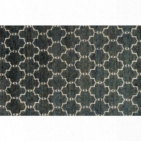 Loloi Sahara 5'6 X 8'6 Hand Knotted Jute Rug In Midnight