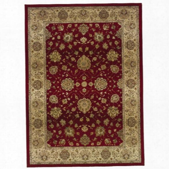 Oriental Weavers Genesis 9'9 X 12'2 Machine Woven Rug In Red