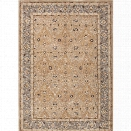 Jaipur Rugs Poeme 9'6 x 13'6 Hand Tufted Wool Rug in Taupe and Blue