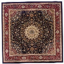 Oriental Weavers Ariana 8' Square Machine Woven Rug in Blue