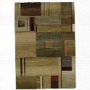 Oriental Weavers Generations 9'9 x 12'2 Machine Woven Rug in Green
