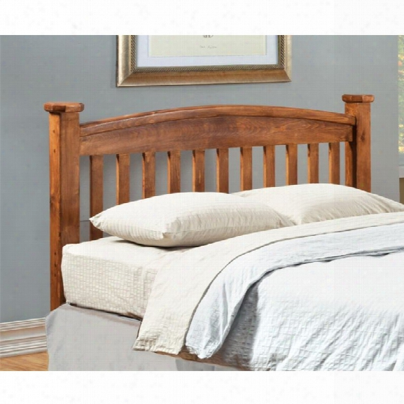 Furniture Of America Legales Full Slat Headboard In Oak