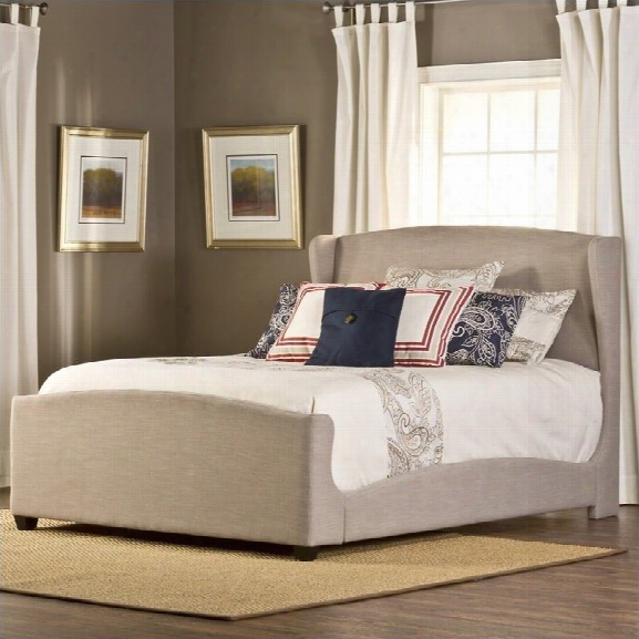 Hillsdale Barrington Bed In Khaki-queen