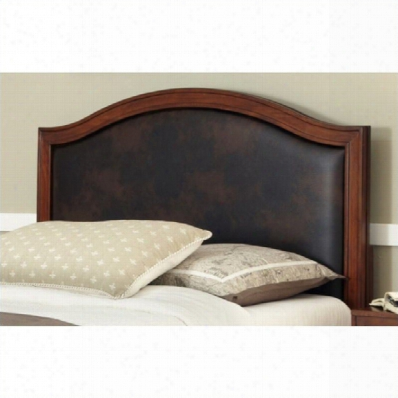 Home Styles Duet Camelback Panel Headboard With Brown-queen - Full