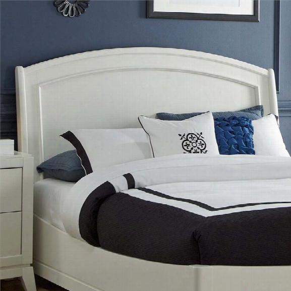 Liberty Furniture Avalon Ii King Panel Headboard In White Truffle