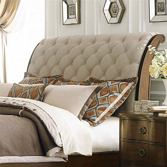 Liberty Furniture Cotswold Upholstered King Sleigh Headboard