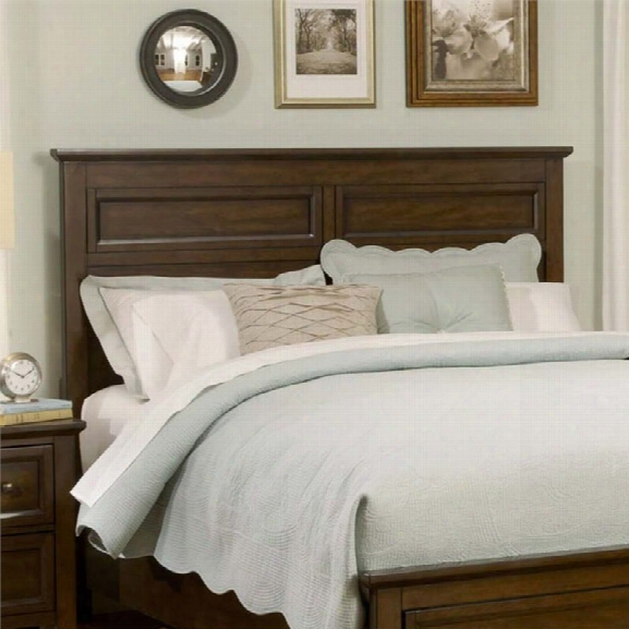 Liberty Furniture Laurel Creek King Panel Headboard In Cinnamon