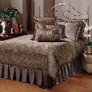 Hillsdale Doheny Spindle Headboard in Brown-Full/Queen
